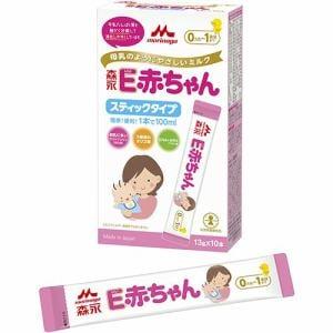 森永乳業 E赤ちゃん スティックタイプ (13g×10本入) 【ベビー用品】