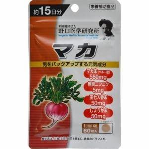 明治薬品 野口医学研究所 マカ (60粒) 【健康食品】