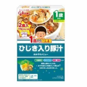 アイクレオ 1歳からの幼児食 ひじき入り豚汁 85g×2袋入