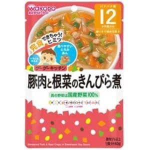 和光堂 グーグーキッチン 豚肉と根菜のきんぴら煮(80g)