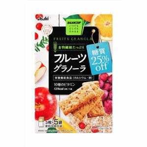 アサヒグループ食品 バランスアップフルーツグラノーラ糖質25% オフ (150g) 【栄養機能食品】