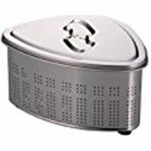 パール金属 アクアシャイン ステンレス製スリム小判型洗桶37.5×25.5㎝ H-6273 ステン