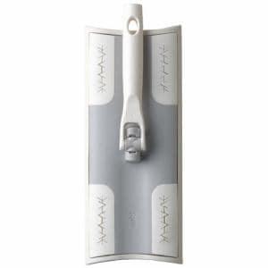 SATTOフローリングワイパー  ホワイト 幅26.3×奥行10.7×高さ18.3cm