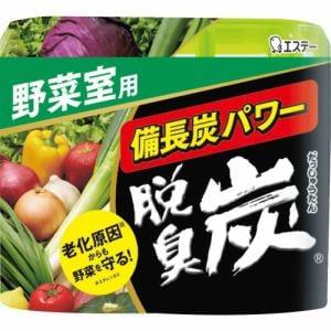 エステー 脱臭炭 野菜室用 142g 【日用消耗品】