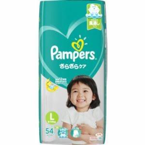 P&G パンパース さらさらケア テープ Lサイズ 54枚 【日用消耗品】