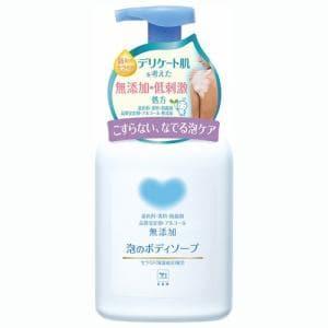 牛乳石鹸 COW無添加泡のボディソープポンプ付550ML  カウブランド無添加