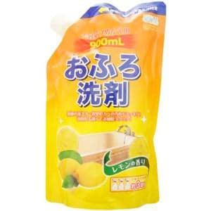 ロケット石鹸 エコグッド おふろ洗剤 レモンの香り つめかえ用 900ml
