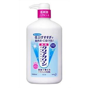 花王 クリアクリーン デンタルリンス 1000ml 【医薬部外品】