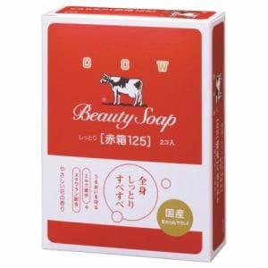 牛乳石鹸 カウブランド 赤箱125G 2個  カウブランド