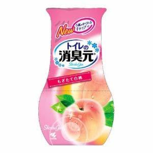 小林製薬 トイレの消臭元 もぎたて白桃(400ml) 【日用消耗品】