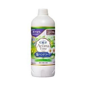 花王 ビオレu アロマタイム 泡ハンドソープ リフレッシュハーブの香り つめかえ用 400ml