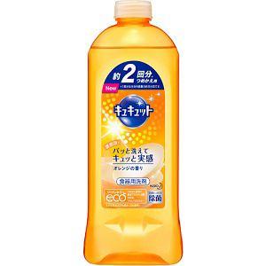 花王 キュキュット オレンジの香り つめかえ用 2回分 385ml | ヤマダ ...