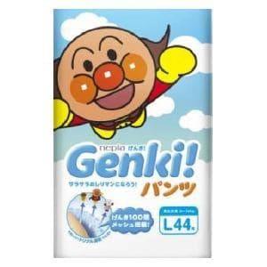 Genki! パンツLサイズ44枚 王子ネピア (9~14kg)ネピアゲンキパンツL44