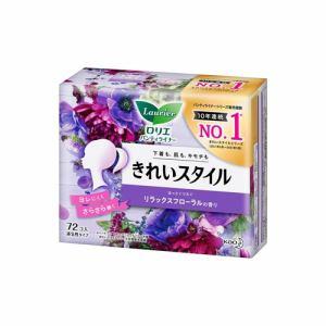花王 ロリエ きれいスタイル ヒーリングブロッサムの香り 72コ入