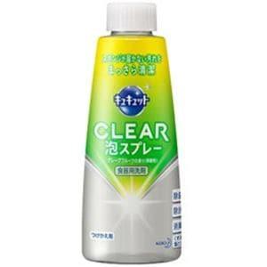 花王 CLEAR(クリア)泡スプレー グレープフルーツの香り 微香性 つけかえ用 300ml
