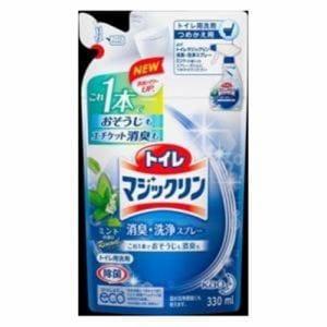 花王 トイレマジックリン 消臭・洗浄スプレー ミントの香り つめかえ 330ml 花王 トイレマジSPミント カエ