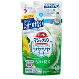 花王 330ml トイレマジックリン 消臭・洗浄スプレー ツヤツヤコートプラス シトラスミントの香り つめかえ用