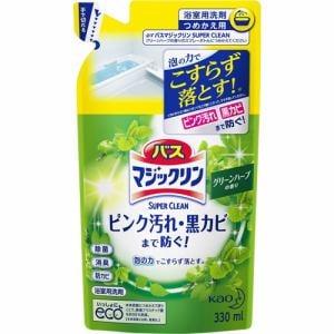 花王 バスマジックリン スーパークリーン グリーンハーブ 詰替 330ml