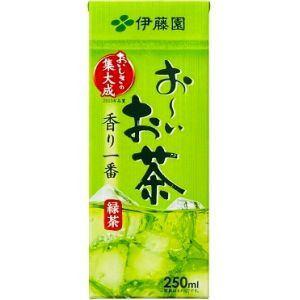 伊藤園 お?いお茶(紙パック) 250ml