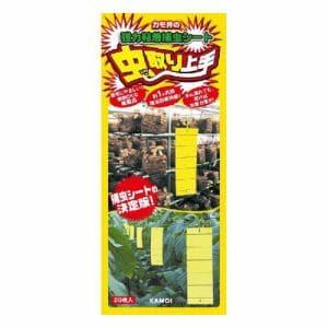 カモ井加工紙 虫取り上手 黄色タイプ 20枚入