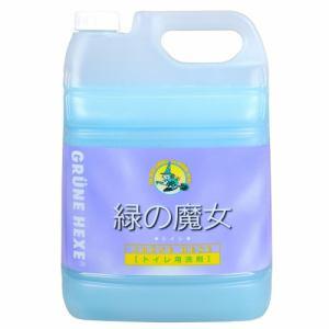 ミマスクリーンケア 緑の魔女 トイレ用洗剤 5L