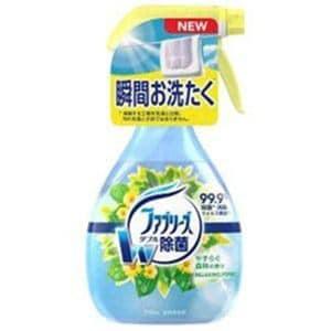 P&G ファブリーズ ダブル除菌 やすらぐ森林の香り 本体 370ml