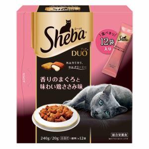 マースジャパンリミテッド SDU9 シーバデュオ 香りのまぐろと味わい鶏ささみ味  240g