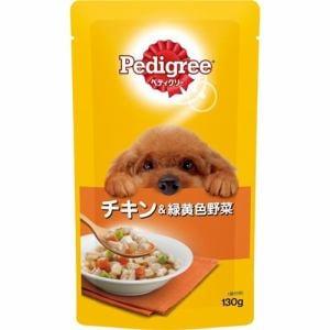マースジャパンリミテッド P104 ぺディグリーパウチ 成犬用旨みチキン&緑黄色野菜  130g