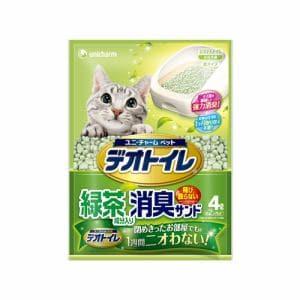 ユニ・チャーム  1週間消臭・抗菌デオトイレ飛散らない緑茶成分入り・消臭サンド  4L