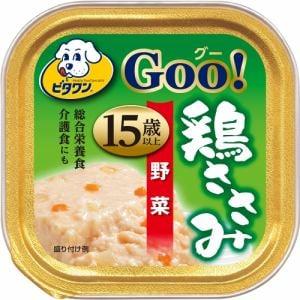 日本ペットフード  ビタワンGOO 鶏ささみ 15歳以上 野菜入り  90g