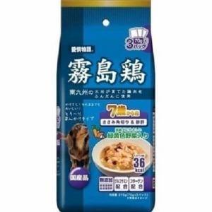 イースター  愛情物語・霧島鶏7歳から用ささみ角切り&砂肝  210g(70g×3P)
