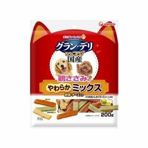 ユニ・チャーム  銀のさら きょうのごほうびやわらかささみミックス野菜・チーズ入り  200g