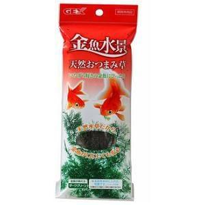 ジェックス 金魚水景 天然おつまみ草 ダークグリーン 観賞魚用品
