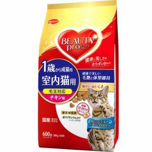 日本ペットフード  ビューティープロ キャット 成猫用 チキン味  600g