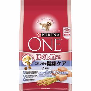 ネスレ日本  ピュリナワン ドッグ ほぐし粒入り 7歳以上 これからも健康ケア チキン  2.1kg