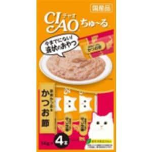いなばペットフード 4SC-75 チャオちゅーる宗田かつお&かつお節  14gX4本