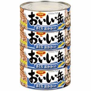 いなばペットフード  おいしい缶まぐろかつお節入り4缶  155gx4