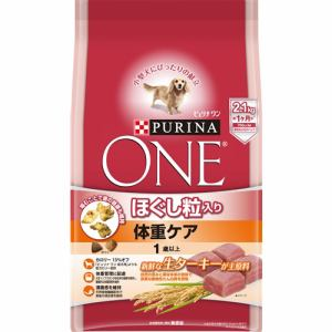 ネスレ日本  ピュリナワン ドッグ ほぐし粒入り 1歳以上 体重ケア ターキー  2.1kg