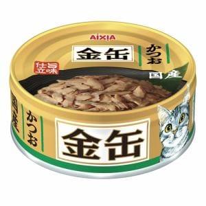 アイシア  金缶ミニ かつお  70g