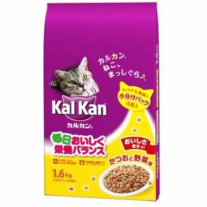 マースジャパンリミテッド KDN21 カルカンドライ かつおと野菜味  1.6kg