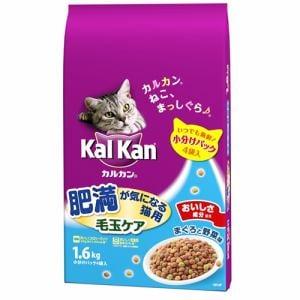 マースジャパンリミテッド KDN30 カルカンドライ 肥満が気になる猫用 毛玉ケアまぐろと野菜味  1.6kg