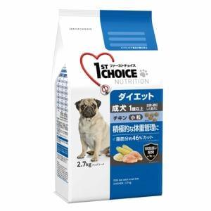 アース・ペット  ファーストチョイス成犬ダイエット小粒  2.7kg