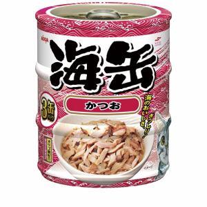 アイシア  海缶ミニ3Pかつお  60g×3