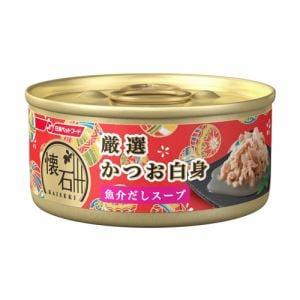 日清ペットフード KC8 懐石缶 厳選かつお白身 魚介だしスープ  60g