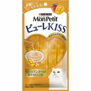 ネスレ日本  モンプチ ピューレキッス つぶつぶマンゴー入り まぐろピューレ  40g