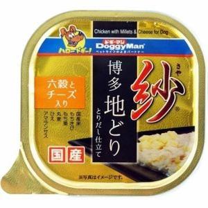 ドギーマン 紗 博多地どり 六穀とチーズ入り 100g