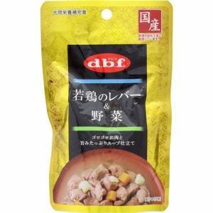 デビフペット 若鶏のレバー&野菜 100g