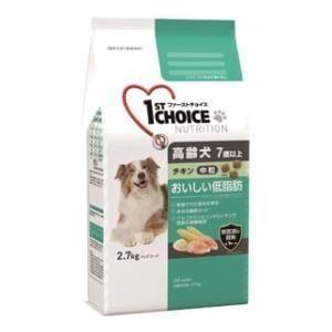 アース・ペット ファーストチョイス 高齢犬(7歳以上)中粒 チキン 2.7kg