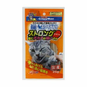 ドギーマン 猫ちゃんホワイデント ストロング チキン味 [猫用 25g]