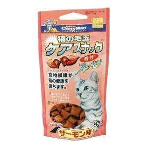 ドギーマン 猫の毛玉ケアスナック サーモン味 35g